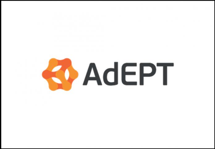Adept Telecom ADT Logo
