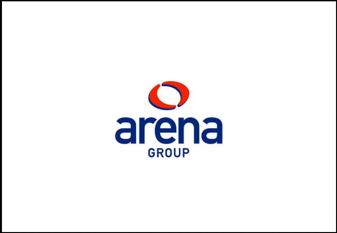 Arena Events ARE Logo