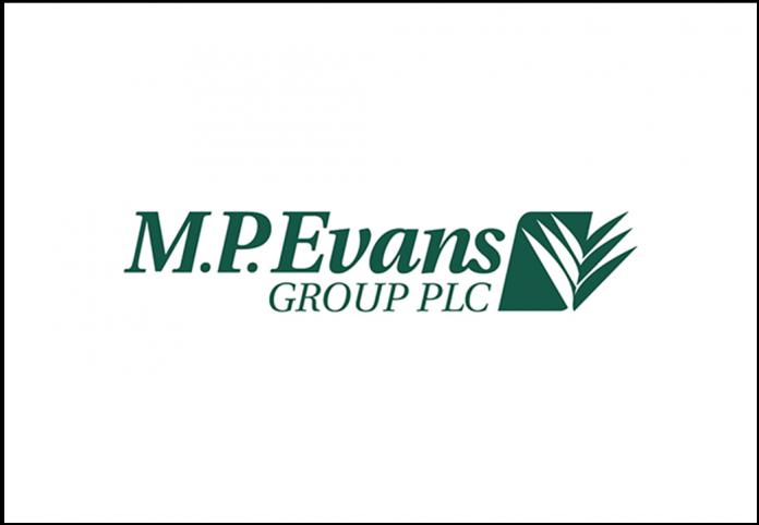 M P Evans MPE Logo