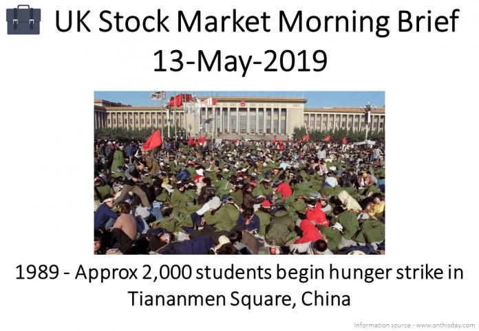 Morning Brief Images 13-May-2019