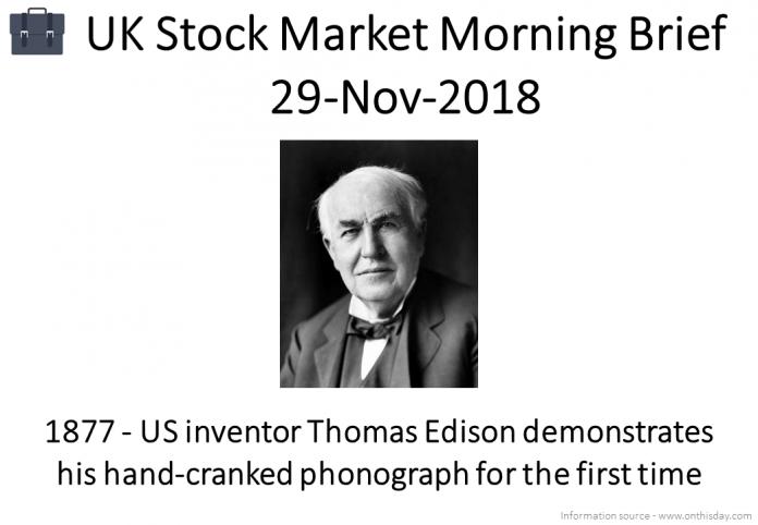 Morning Brief Images 29-Nov-2018
