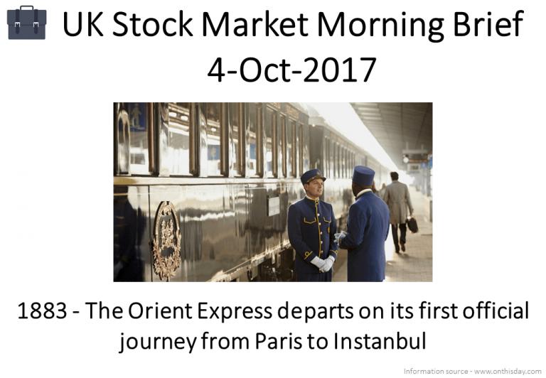 Morning Brief – 4-Oct-2017